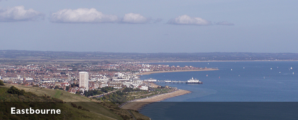 Eastbourne panorama